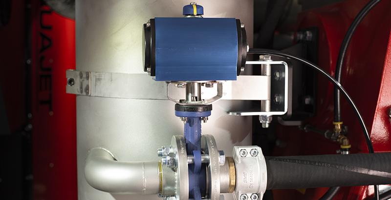 hydrodemolition high-pressure pump power pack inlet valve