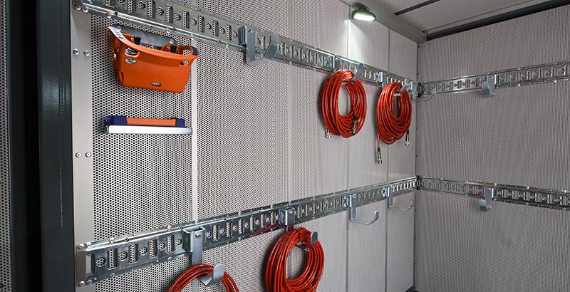 hydrodemolition high-pressure pump power pack storage